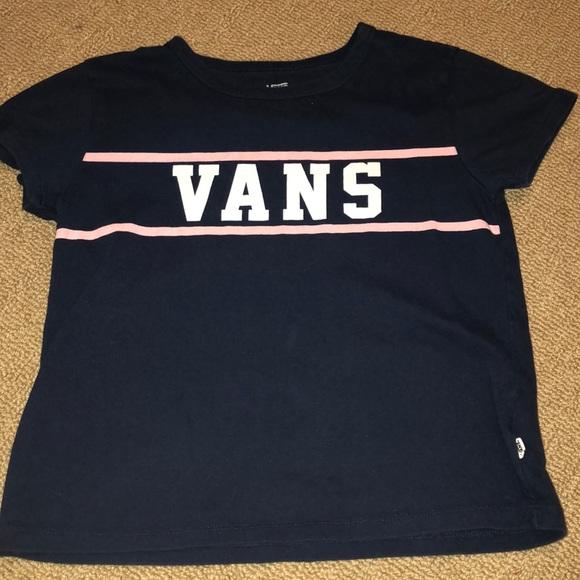 be706660 Vans navy blue t shirt